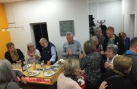 """Das """"Weihnachtfeier-Buffet"""" vor den """"8 Frauen"""" © OVTP / gp"""