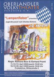 Plakat: Oliver Twist 2008
