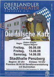 Plakat: Die falsche Katz 2008