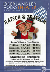 Plakat: Ratsch und Tratsch 2009