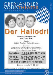 Plakat: Der Hallodri 2009