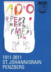 Plakat: 100 Jahre Penzberg Namenstag 2011