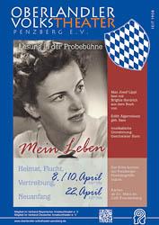 Plakat: Mein Leben 2016