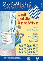 Plakat Emil und die Detektive 2016