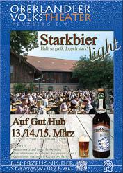 Plakat Starkbieranstich 2015