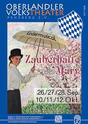 Plakat: Zauberhafte Mary 2014