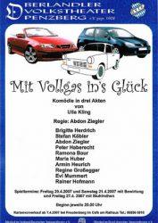 Plakat Mit Vollgas ins Glück © OVTP