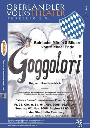 Plakat: Goggolori © OVTP