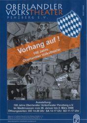 Plakat Ausstellung 100 Jahre OVTP © OVTP