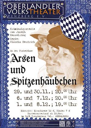 Plakat Arsen und Spietzenhäubchen © OVTP / gp