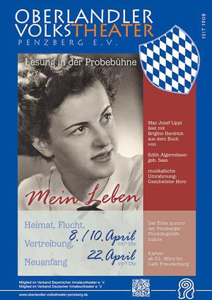 Plakat: Mein Leben © OVTP / gp