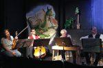 Musikalische Kommentare und Hinterkünftigkeiten vom Ensemble Herrschaft!Sait'n - © OVTP / da