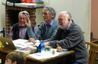 Der Wahlvorstand (oder waren es doch die Muppet-Opas) bei der Wahlvorbereitung © OVTP / gp