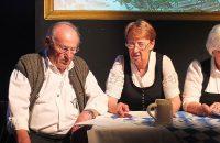 Adon Ziegler mit seiner Frau Helga bei Boarisch Kunterbung 2015 - © OVTP / da