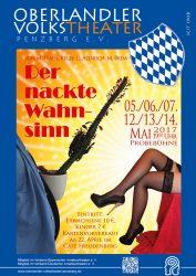 Plakat Der nackte Wahnsinn © OVTP / gp, da