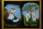 Die Kunstwerke unserer Bühnemaler Richard Zila und Anke Schmidt - © OVTP / gp