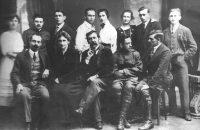 Die Mitglieder des Handwerkervereins um 1922 © HaVe
