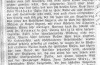 """Zeitungsartikel zum Stück """"Almzauber"""" 1928"""
