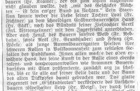 """Zeitungsartikel zum Theaterstück """"Der verbotene Weg"""" 1933"""