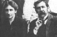 """Der Penzberger Fotograf """"Papa Hain"""" mit seiner Gattin (ca. 1922). © HaVe"""