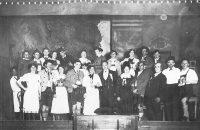 Mitglieder des Theatervereins in den 30er Jahren. © StaP