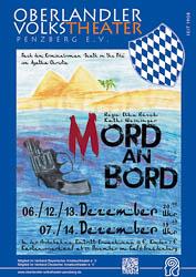Plakat: Mord an Bord 2014