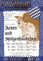 Plakat: Arsen und Spitzenhäubchen 2012/13