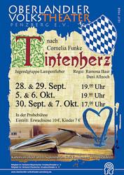 Plakat: Tintenherz 2012