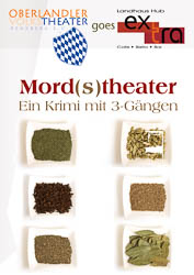 Plakat: Mord(s)theater 2012