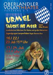 Plakat: Urmel taucht ins Meer 2011