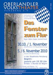 Plakat: Das Fenster zum Flur 2010