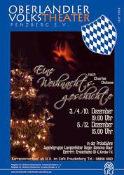 Plakat: Eine Weihnachtsgeschichte 2010