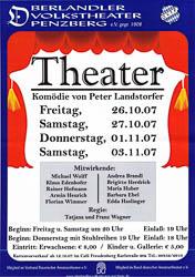 Plakat: Theater 2007