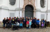 Gruppenfoto vor dem Marienmünster © OVTP / da