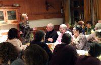 Die Vorständin Claudia Herdrich begrüßte die Mitglieder. © OVTP / gp