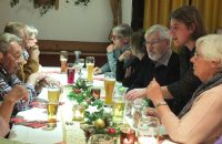 Viel Gesprächsstoff über gute alte Zeiten und das kommende Jahr © OVTP / gp