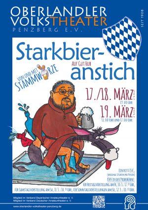 Plakat Stakrbieranstich 2017 © OVTP / gp; Zeichnung: F. Born