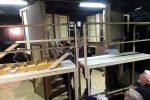Ein Hoch auf den Bühnenbau! Er hat es geschafft in der Minibühne eine wendbare Bühne mit zwei Stockwerken unterzubringen. © OVTP / gp