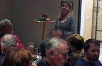 Frau Herdrich begrüßt die Mitglieder © G. Prantl