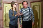 Regie und Regieassistenz beraten sich. © N. Allnoch / OVTP