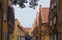 Die Fuggerei - älteste Sozialsiedlung der Welt © D. Allnoch / OVTP