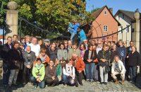 Gruppenbild bei der EKU Brauerei © Allnoch / OVTP