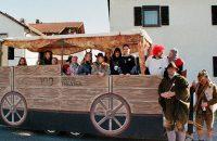 Der Faschingswagen zum 100-jährigen des Vereins © OVTP