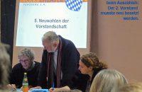 Der Wahlausschuss beim Auszählen der Stimmen; der zweite Vorstand musste neu besetzt werden. © OVTP