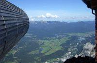 Blick vom Karwendel-Fernrohr ins Werdenfelser Land © G. Prantl / OVTP