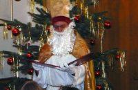 Nikolaus bei der Weihnachtsfeier © OVTP