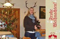 Frohe Weihnachten! Wos is jetz des fia a Rentier? © G. Prantl / OVTP