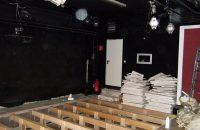 Umbau Probebühne / Zuschauerraum © G. Prantl / OVTP
