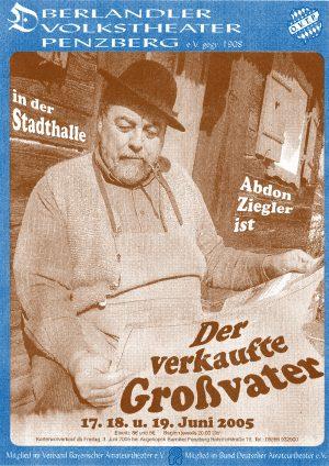 Großvater Plakat