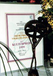 Kulturpreis 1999 © OVTP, Stadt Penzberg